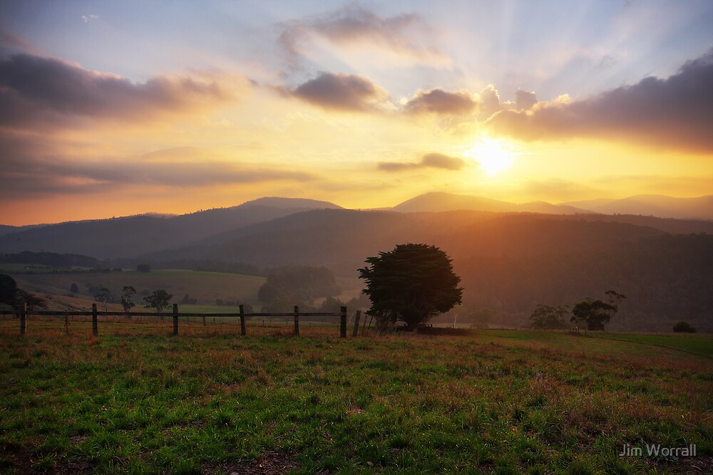 Close of Day - West Neerim by Jim Worrall