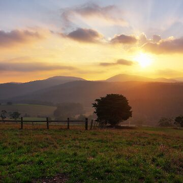 Close of Day - West Neerim by PixelMuser