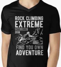 Climbing Men's V-Neck T-Shirt