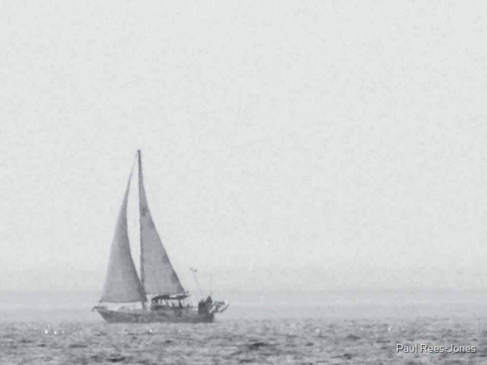 Old Sail. by Paul Rees-Jones