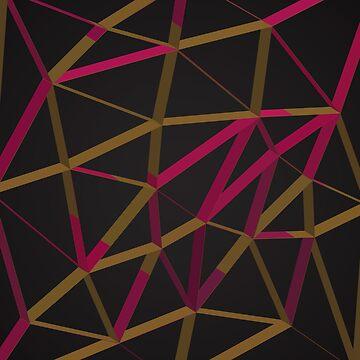 3D Futuristic GEO Lines XI by tamaya111