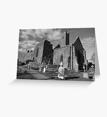 Quin Abbey (Clare) Greeting Card