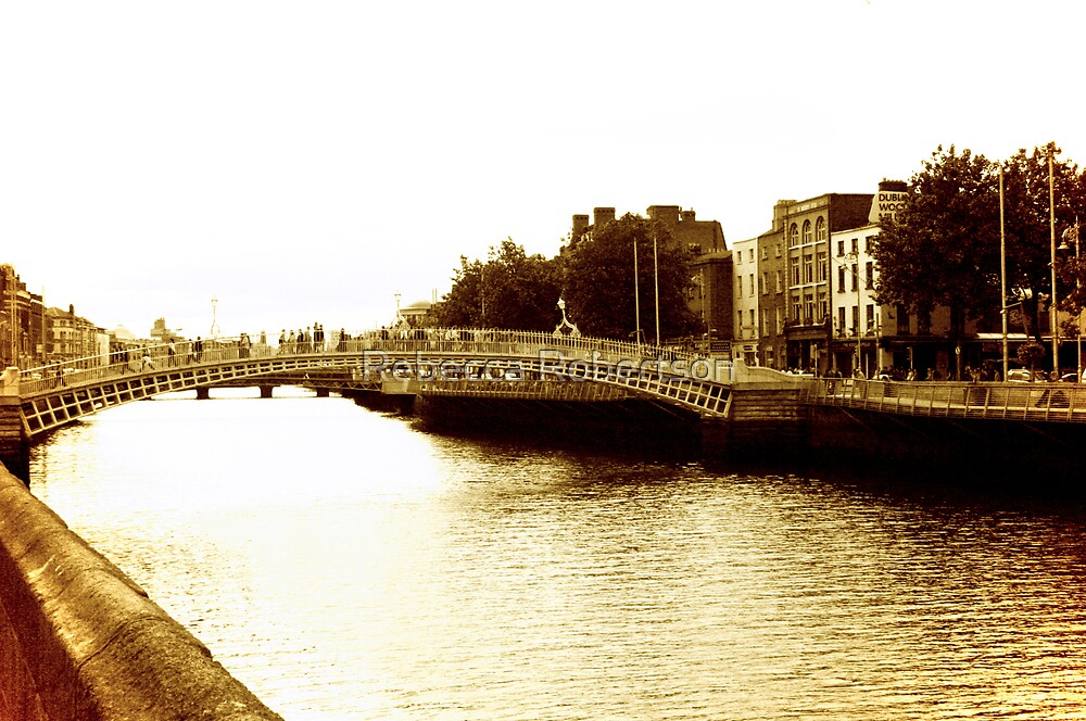 Floating Down the Liffey by Rebecca Robertson