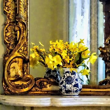 Daffodils on Mantelpiece by SudaP0408