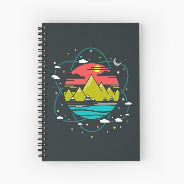 Isotope of Life Spiral Notebook