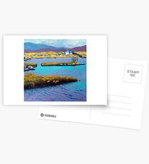 Lough Nafurnace, Galway, Ireland. Postcards
