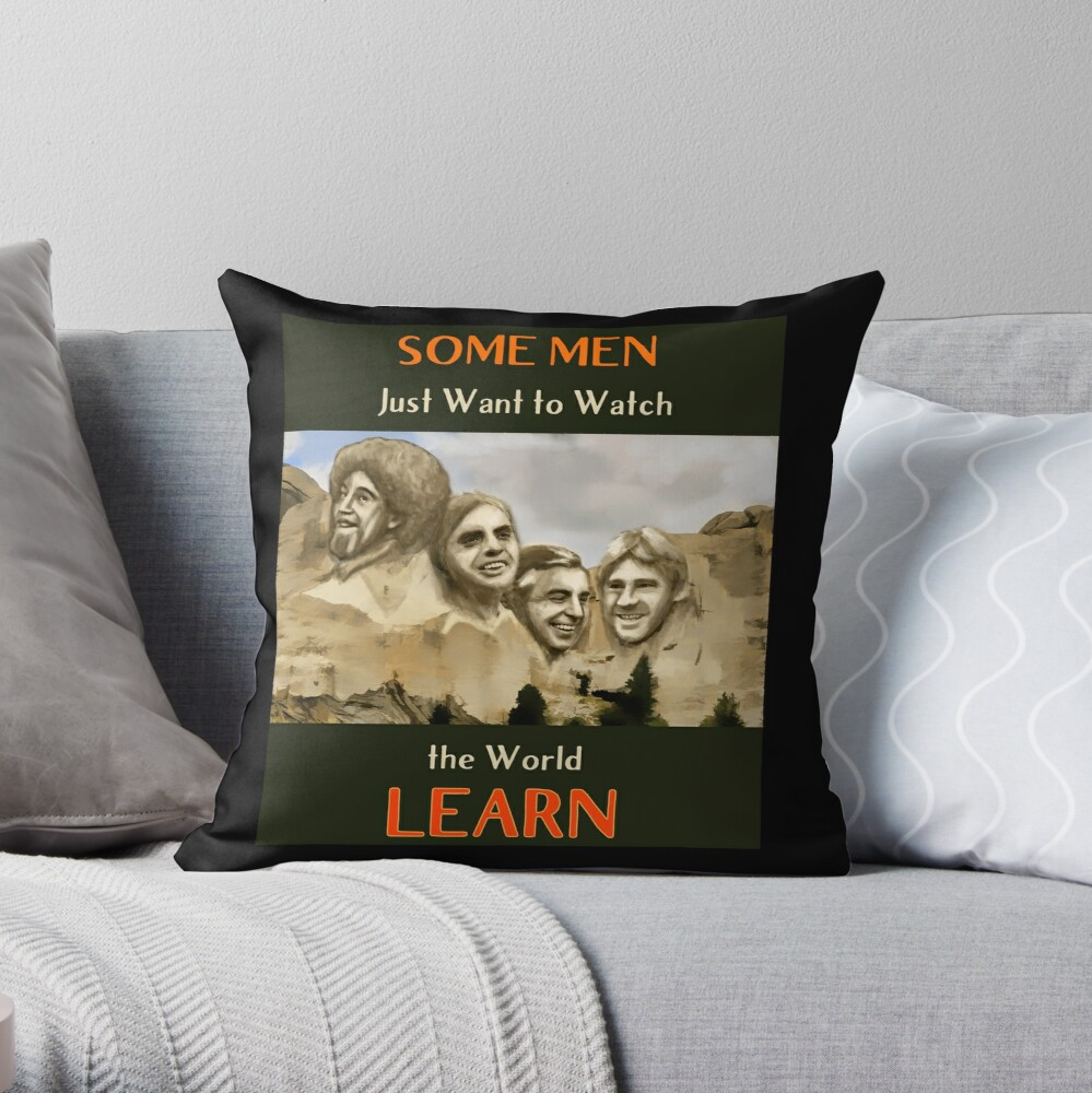Four Horsemen Of Compassion Throw Pillow By Ravenblue Redbubble