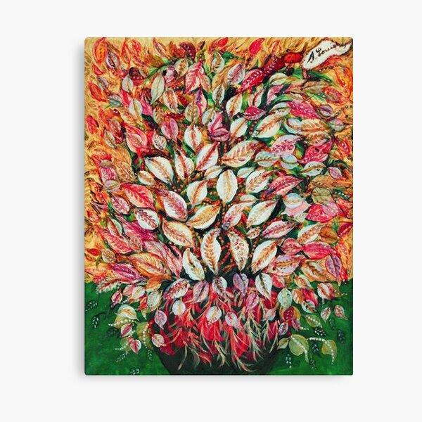 Favourite Artist - Seraphine Louis - Feuilles Canvas Print