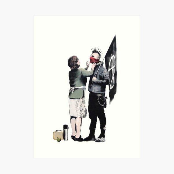 Banksy - Mamá punk Lámina artística