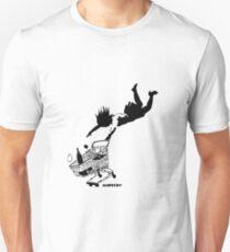 Banksy - Shop 'til you drop Slim Fit T-Shirt