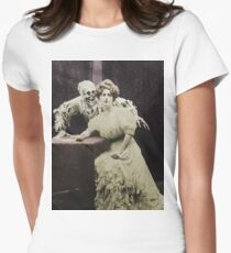 Victorian Zombie Women's Fitted T-Shirt