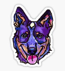 The happy Heeler love of my life Sticker