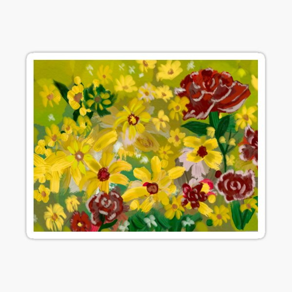 the floral texture make of this beautiful design the perfect complement to go out. Sticker