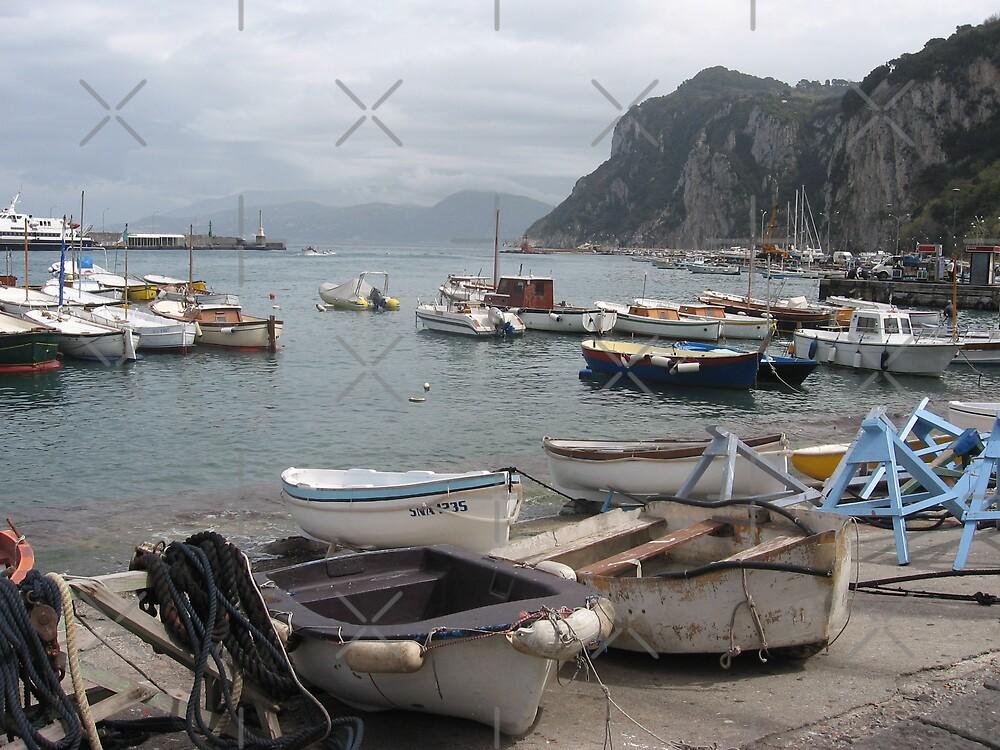 Capri, Italia by Kymbo