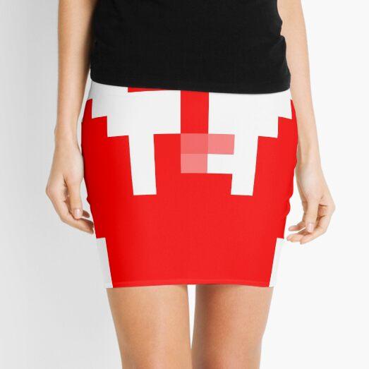 Structure, framework, composition, frame, astonishing, amazing, surprising, wonderful Mini Skirt