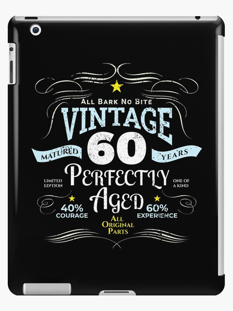 Funny Vintage 60th Birthday Gift By Blazesavings