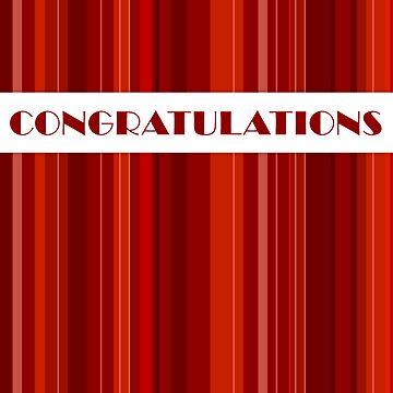 Congratulations card by katmac