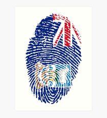 Falkland Islander Art Print