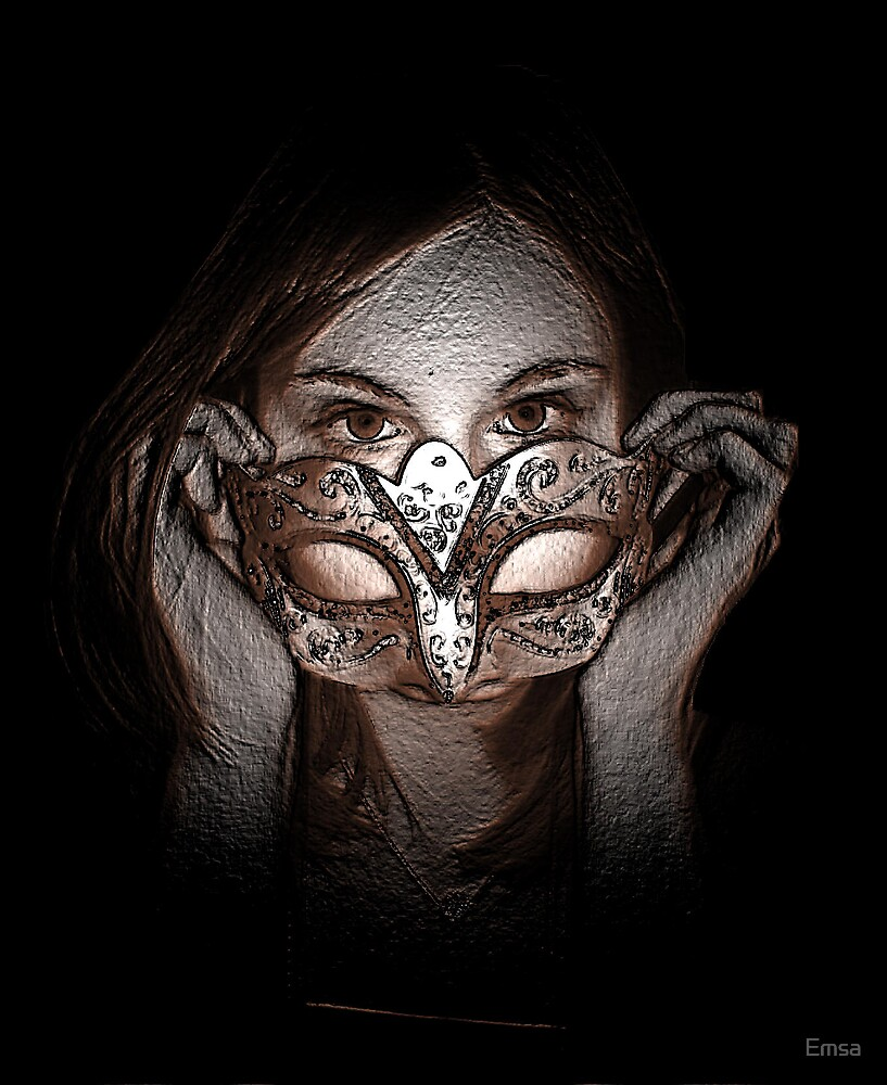 Behind the mask by Emsa