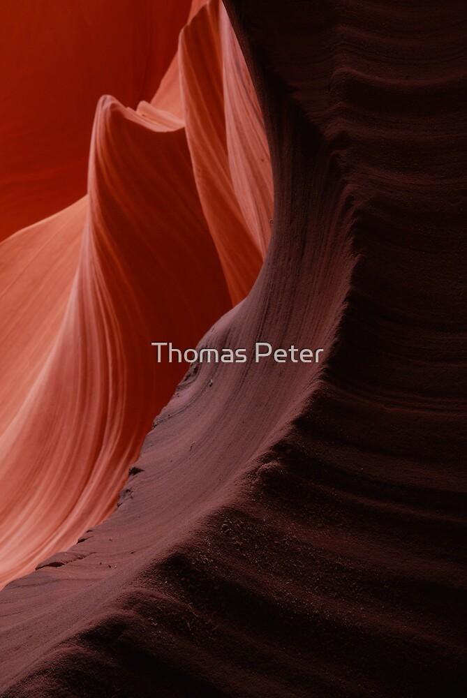 Antelope Canyon by Thomas Peter