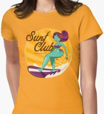 Surf Club Paradiso Women's Fitted T-Shirt