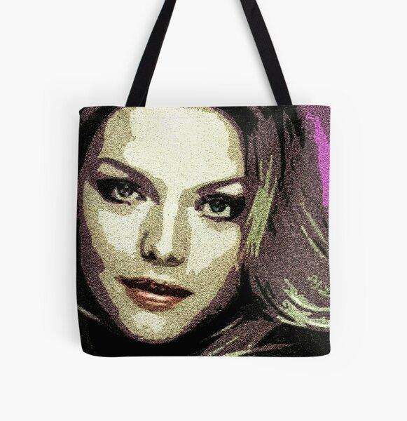 Michelle Pfeiffer All Over Print Tote Bag