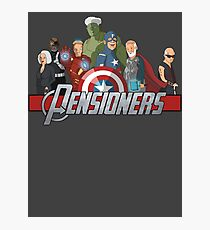 The Pensioners Assemble! Photographic Print