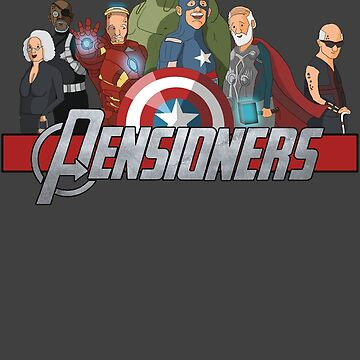 The Pensioners Assemble! by BenSimpson