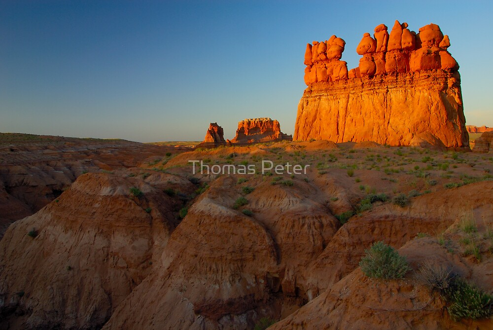 Goblin Valley by Thomas Peter