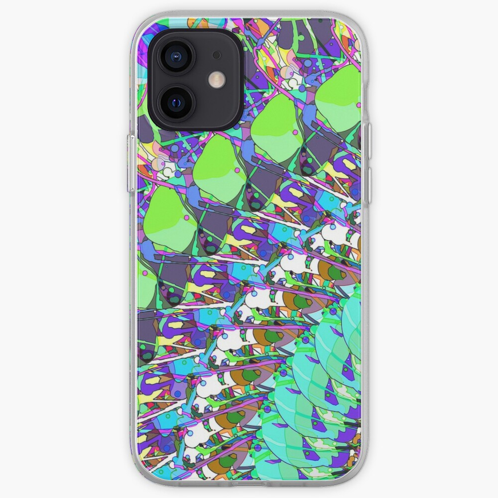 Abstract Collage of Colors iPhone Case & Cover