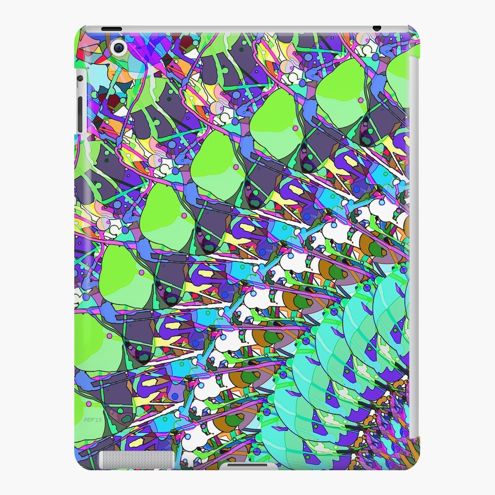 Abstract Collage of Colors iPad Case & Skin