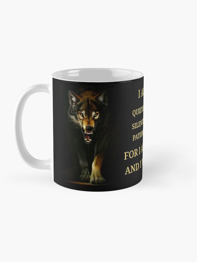 Alternate view of I Am A Warrior  Mug
