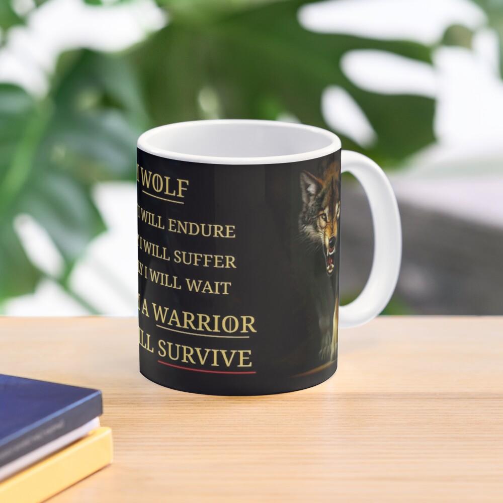 I Am A Warrior  Mug