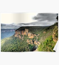 Govetts Leap Poster
