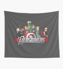 The Pensioners Assemble! Wall Tapestry