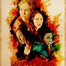 Wynonna Earp - Western Style Cast Poster #14 (A Mother And Her Children) by Chantal Zeegers