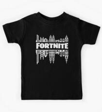 Fortnite: Battle Royale - White Kids Tee