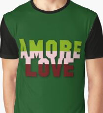 Say it in Italian--LOVE Graphic T-Shirt