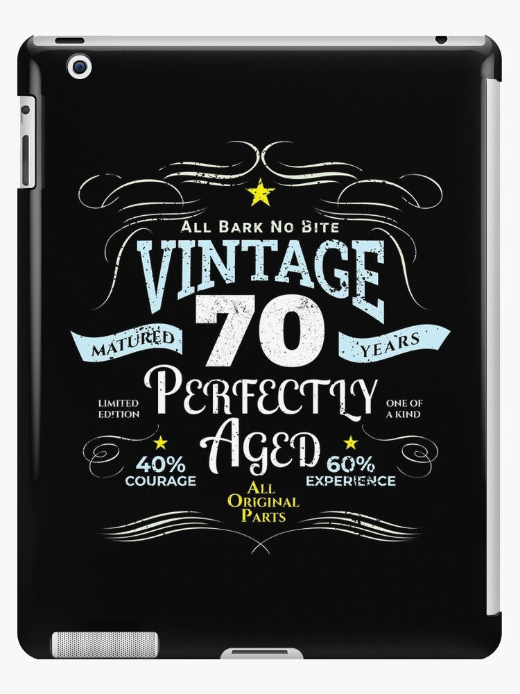 Funny Vintage 70th Birthday Gift