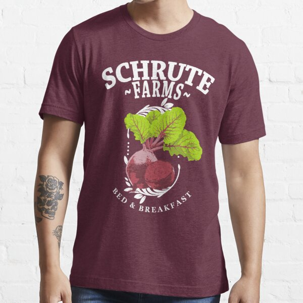 Schrute Farms Bed & Breakfast The Office Beets Essential T-Shirt