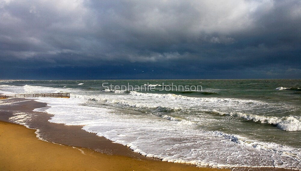 April storm by Stephanie Johnson