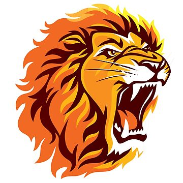 Roaring Lion by RedWineBubble