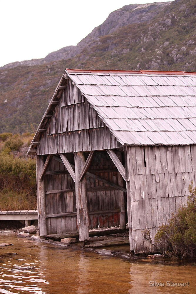 The old boatshed by Silvia Stewart