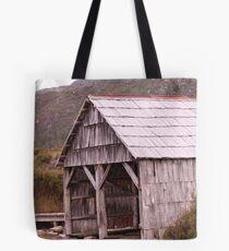 The old boatshed Tote Bag
