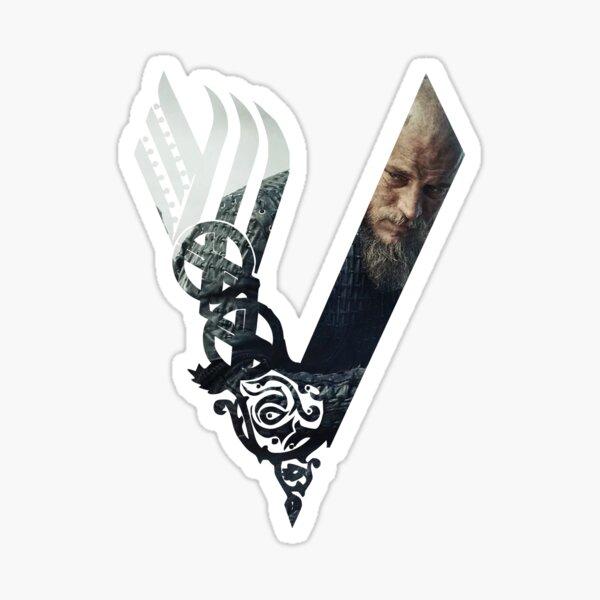 Vikings Logo Ragnar Sticker