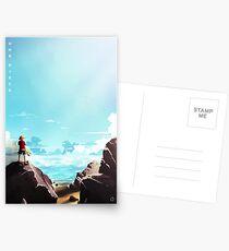 Ein Stück (Landschaft) Postkarten