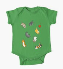 Kitten Rain One Piece - Short Sleeve