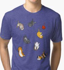 Kitten Rain Tri-blend T-Shirt