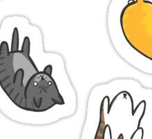 Kitten Rain Sticker