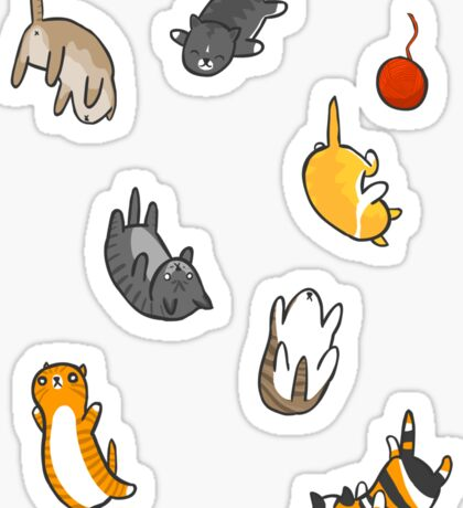 Kitten Rain Sticker
